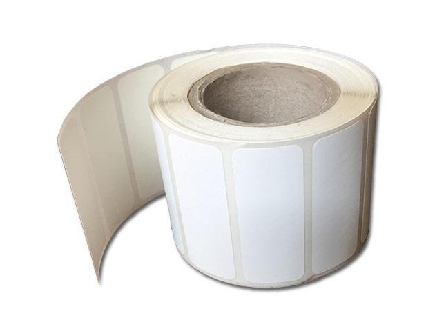 Etiquettes adhésives destructibles blanches - Ref 16419