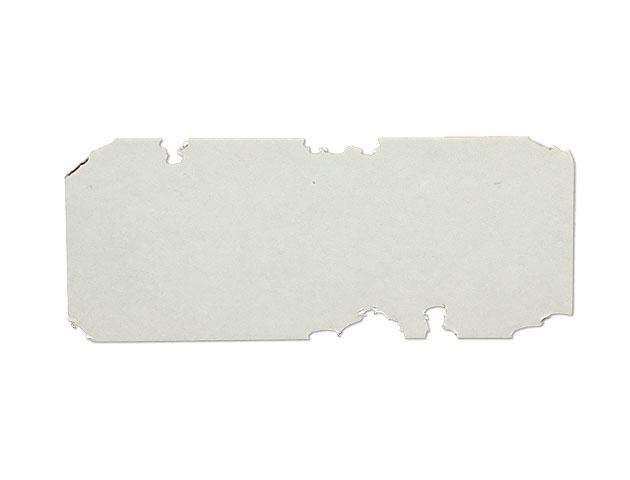 Etiquettes adhésives destructibles blanches - Ref 16421