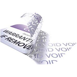 Etiquettes VOID et anti contrefaçon