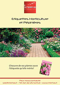 Catalogue horticulture